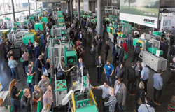 Around 6,300 plastics specialists attended the Arburg Technology Days